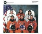 NASA (Space crew for Shuttle Mission STS-76) - Genuine Signed Autograph 7987